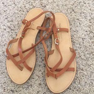 Genuine Italian leather sandals